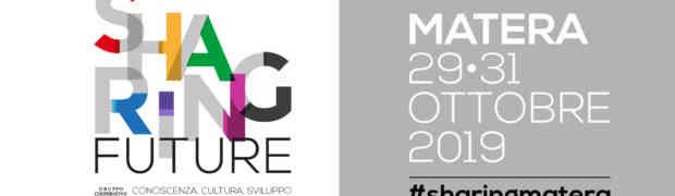 Matera Sharing Future, alla convention Cgm i partecipanti diventano cittadini temporanei