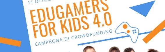 Al via su Eppela il crowdfunding per lanciare EduGamers for kids